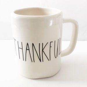 Rae Dunn Artisan Collection THANKFUL Coffee Mug